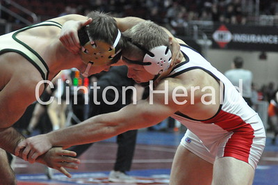 Clinton's Guilliams, Clark fourth at state wrestling (2-20-16)