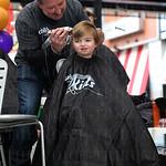 Dawson Barr had his hair cut.