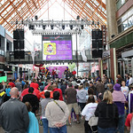 The event was well attended and was held at Fourth Street  Live.