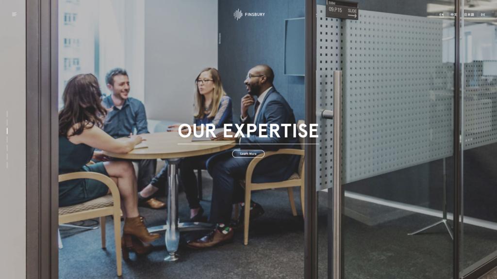 Finsbury-Expertise-website