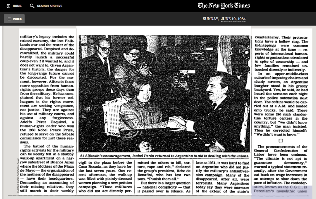 1984-NYT-AlfonsinIsabel