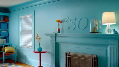 """Glidden Paint """"The Smarter Way To Wow"""""""