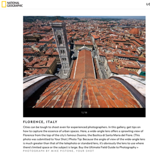 National Geographic - How to Photograph Cities