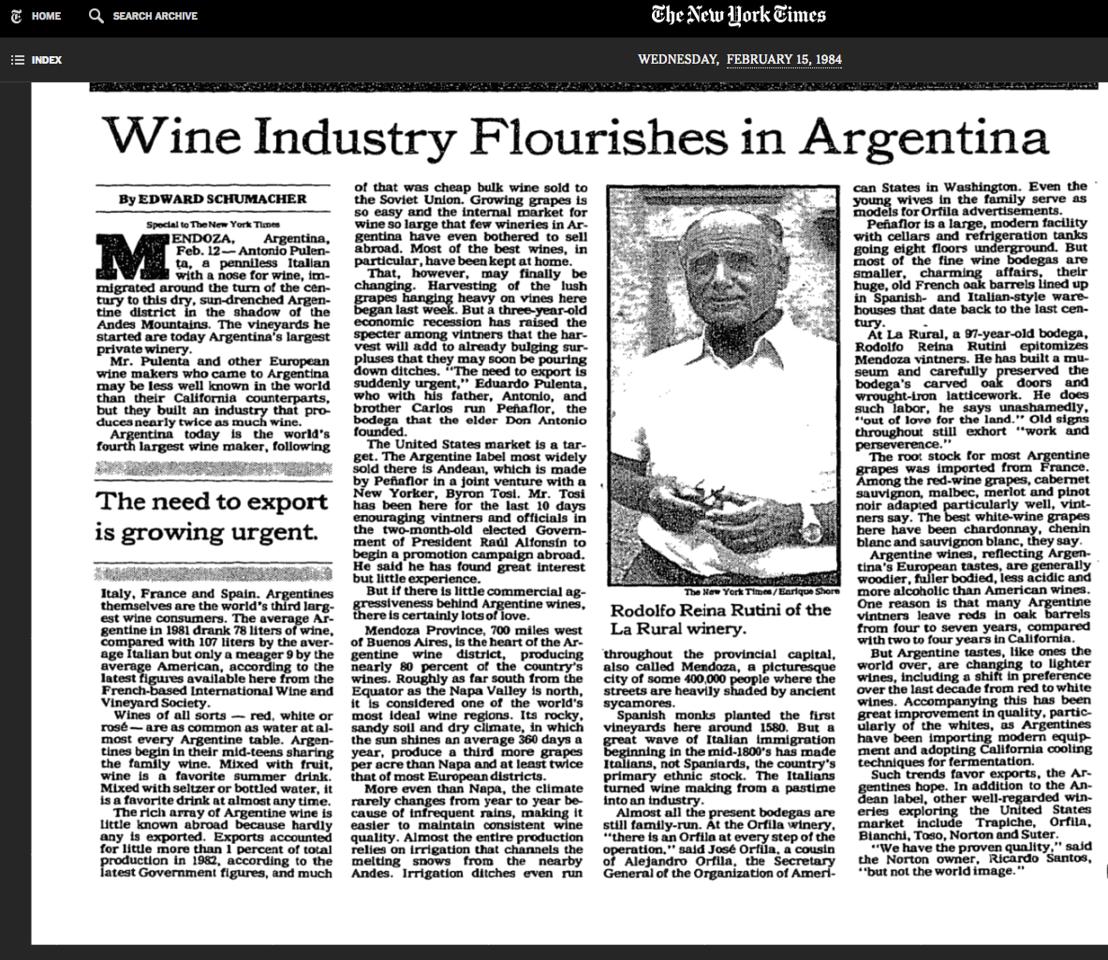 1984-NYT-ArgentineWineIndustry