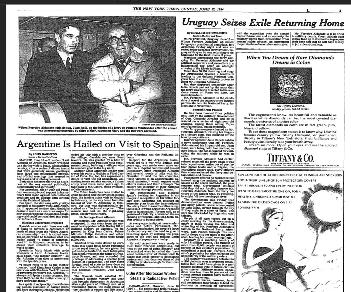 1984-NYT-FerreiraAldunateArrested