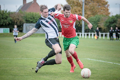Greg Kidd had probably one of his best games this season, storming forward at every opportunity from the right back position to attack the Clipstone penalty box.