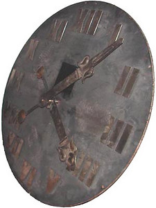 589 - Tower Clock Dial  SOLD