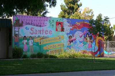 6010 Santee mural