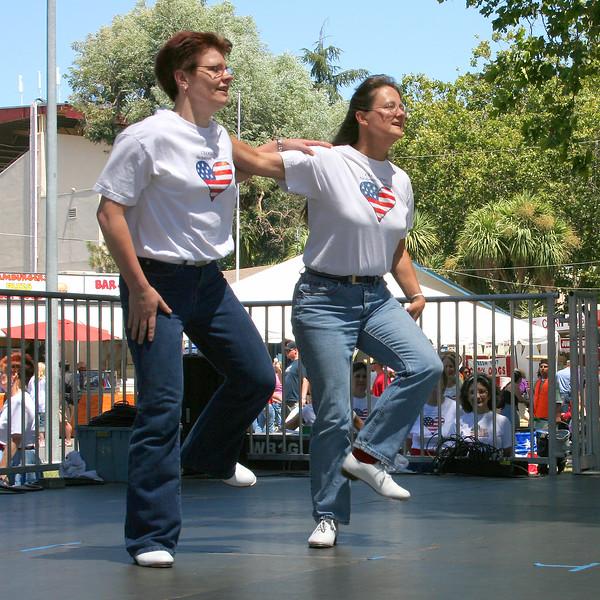 """Duet by Lois and Jenn, """"Dance Above the Rainbow"""""""