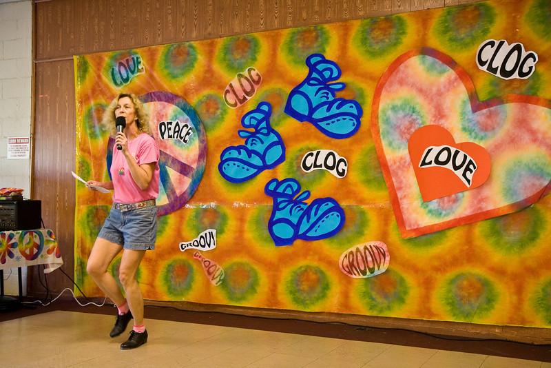 Michele teaching