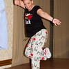 Kerri Orthner leading Zumba Saturday night at California Spectacular