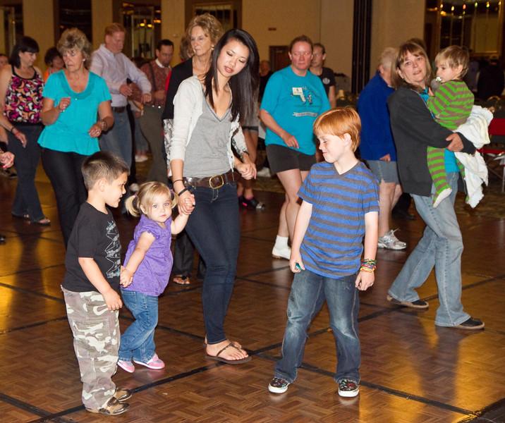 Kids dancing Saturday at California Spectacular