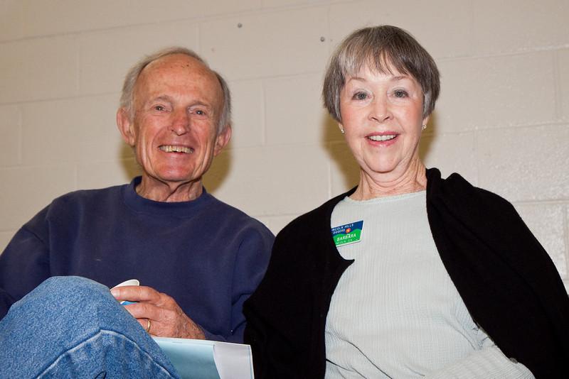 Hal and Barbara Sowers at Doug Chin Clogging Classic, Orangevale.