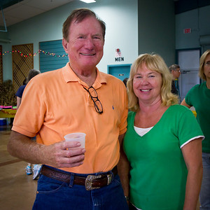 John and Kathy Smithlin  at Late Harvest Stomp