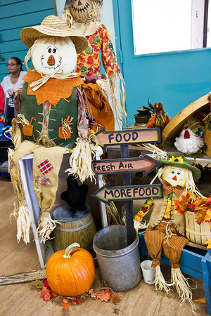 Decorations at Late Harvest Stomp