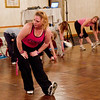 Kerri's Sunday morning Zumba class - ending stretches