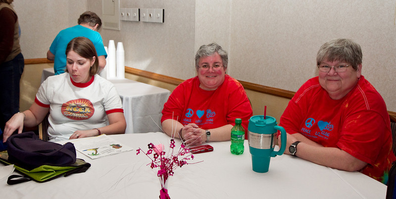 Carmin, Deann & Cindy at NCCA Convention Friday night