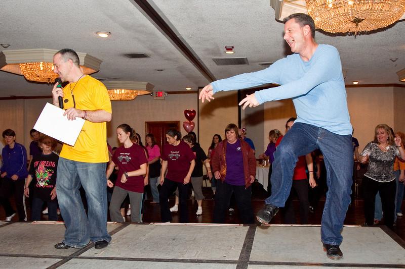 Kevin and David Saturday night at NCCA Convention