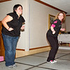 Kellee and Kerri leading the Saturday night afterparty at NCCA Convention