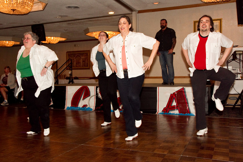 Clogging Express performing Uncle Pen at NCCA Convention