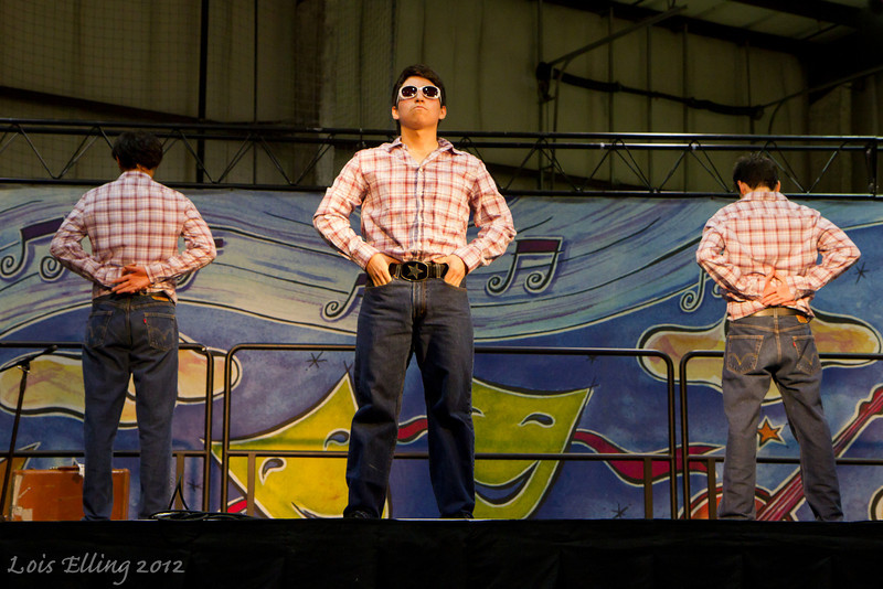 Barbary Coast Cloggers at the San Mateo Harvest Festival. Gangnam Style!