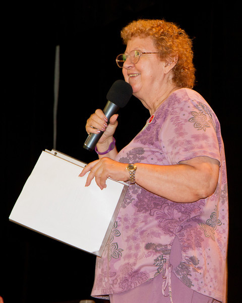Althea Mason teaching at Blossom Hill Festival, Aug. 2012.