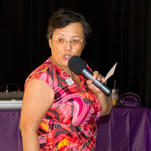 Janice Hanzel teaching at Blossom Hill Festival, Aug. 2012.
