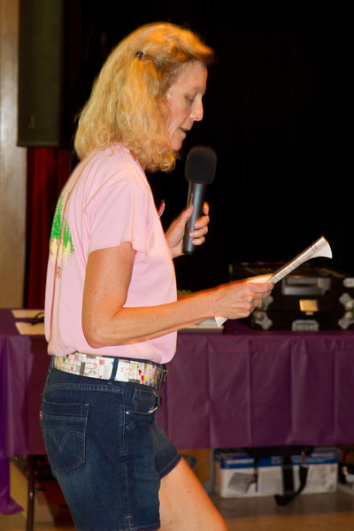Michele Hill teaching at Blossom Hill Festival, Aug. 2012.