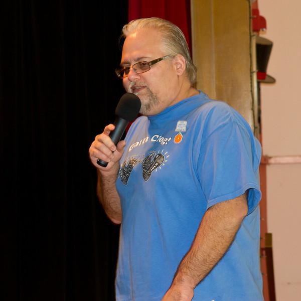 Richard teaching at Blossom Hill Festival, Aug. 2012.