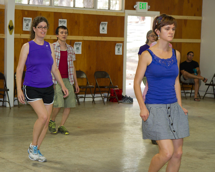 Dancers at Grass Valley.