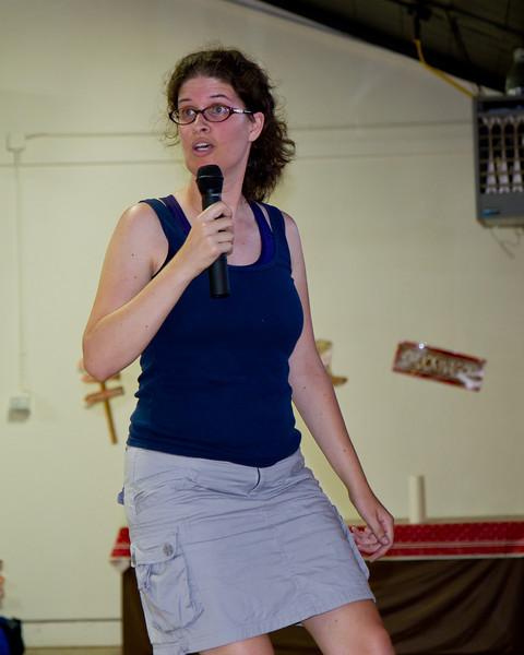 Sarah Dwight-Gilroy teaching at Grass Valley.