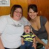 Suzy, baby Tanner, and mommie, Torie.