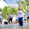 "Diablo Mountain Cloggers dancing to ""Just Dance"" at the Alameda County Fair."