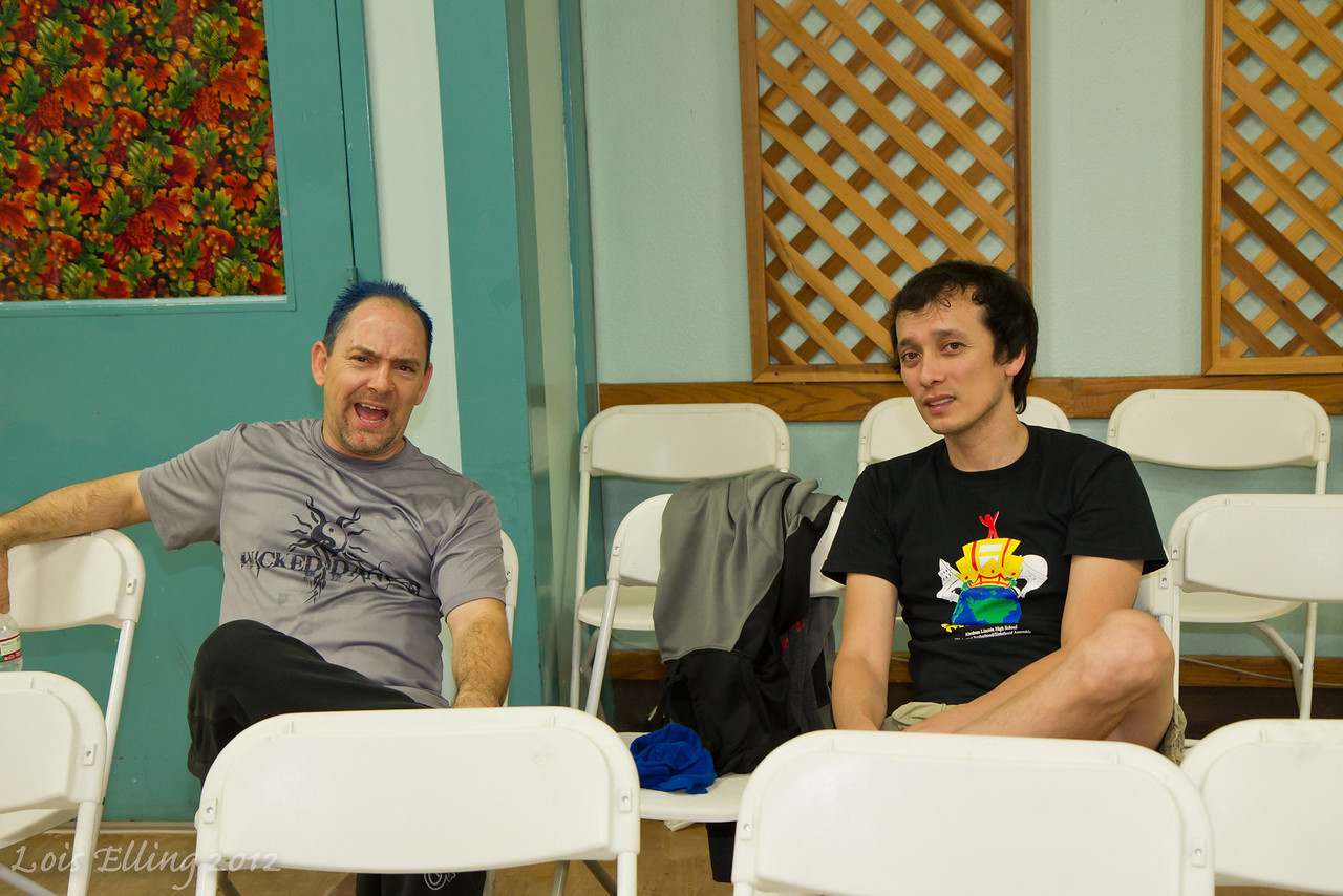 Kevin and Ian at Late Harvest Stomp, 2012.
