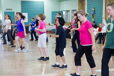 Dancers at Late Harvest Stomp, 2012.