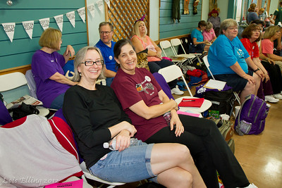 Sheila and Carol at Late Harvest Stomp, 2012.