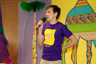 Ian teaching at March Madness 2012.