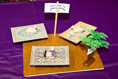 Arabian airport miniature by Cindy at March Madness 2012.
