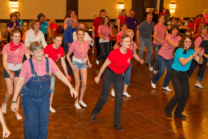 Dancers at NCCA Convention.