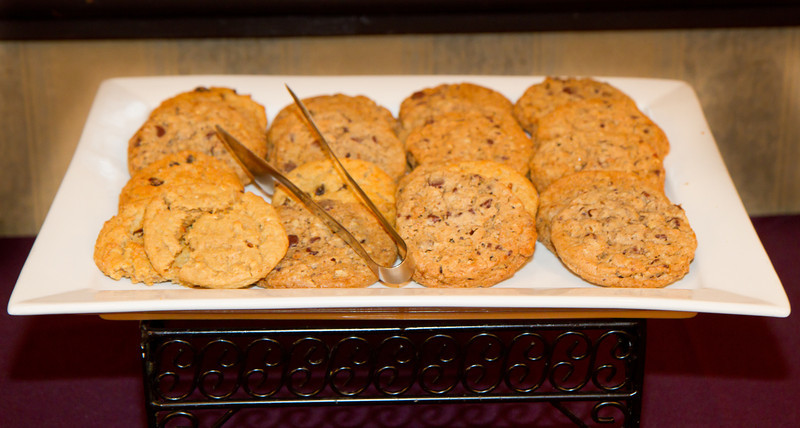 Cookies at NCCA Convention.
