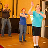 Barry, Carol, and Susi leading the Macarena at NCCA Convention.