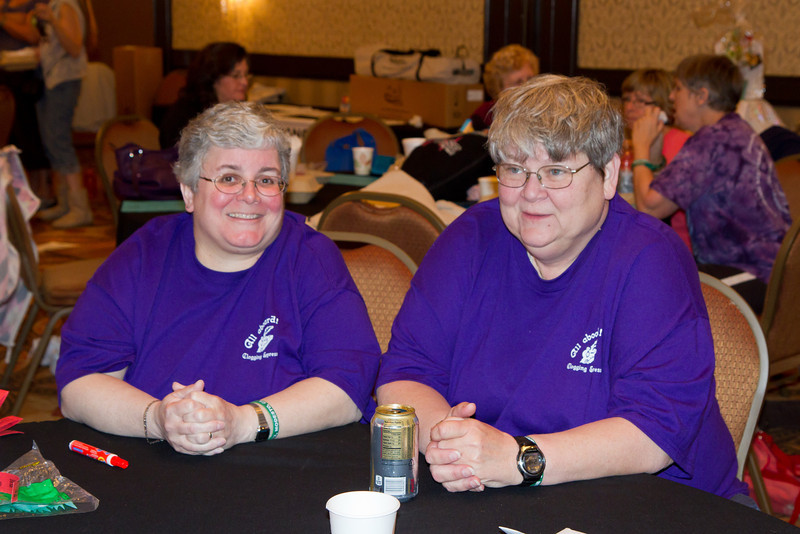 Deann and Cindy at NCCA Convention.