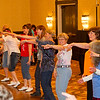 Dancing YMCA at NCCA Convention.