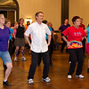 Sheila, Geoff, and Bonni dancing the Macarena at NCCA Convention.