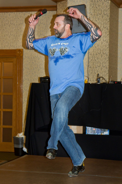 Barry demonstrating pull backs at NCCA Convention.
