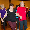 """Loni and Richard dancing to """"Cotton-Eyed Joe"""" at NCCA Convention."""