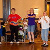 Geoff, Bonni, Sheila, and others dancing YMCA.