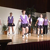 "Clogging Express dancing ""Fire On the Bayou"" at Rossmoor."