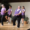 "Clogging Express dancing ""Swing Kids"" at Rossmoor."