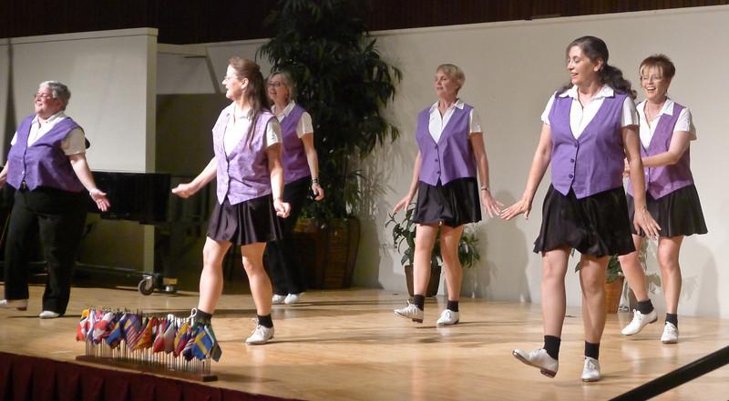 "Clogging Express dancing ""Swing Kids"" at Rossmoor."